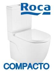Inodoro Compacto Roca MERIDIAN Blanco