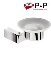 Jabonera Pared KIRO KI-09 PyPColocación: Con tornillos ó Adhesivo SEALANT Medida: 13x5x12 cm. Material: Latón y Zámak