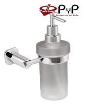 Dosificadores de jabón Pared BASIC BC-99 PyP.Colocación: Con tornillos ó Adhesivo SEALANT Medida: 11x17x9,5 Latón y Zámak
