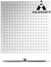 Rociador Acero Inox Sofía 25 cm. Aquassent. Extraplano anti-cal Acabado: Cromo
