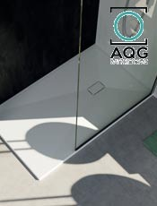 El plato ideal para tu ducha AERO LIGHT AQG Bathrooms. Entrega Rápida.