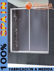 Estilo a tu medida. Mampara de ducha a medida Samoa Doccia. El mejor momento para comprar.