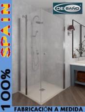 Estilo a tu medida. Mampara abatible ducha Carites Debaño. El mejor momento para comprar.