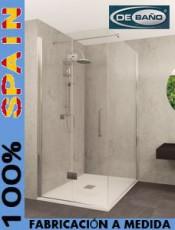 Estilo a tu medida. Mampara ducha plegable Moiras Debaño. El mejor momento para comprar.