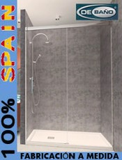 Estilo a tu medida. Mampara ducha barata Musa Debaño. El mejor momento para comprar.