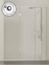 Anticípate a nuestras Ofertas. Mamparas plegables de ducha Corfú de Glassinox. Haz clic aquí y mírala.