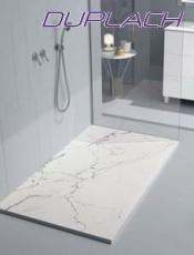 El Mejor Plato de Ducha stone Marmol blanco de Duplach. Mejor Calidad al mejor Precio