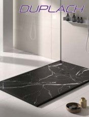 El Mejor Plato de Ducha stone marmol negro de Duplch. Precios sin competencia