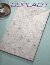 Platos Ducha, Marcas de Calidad stone Terrazo Gris de Duplach. Mejor Calidad al mejor Precio