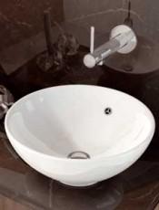 Lavabo BOL con Rebosadero Porcelana.