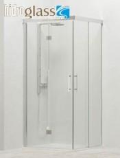 Anticípate a nuestras Ofertas. Mampara ducha angular plegable SINALOBI Hidroglas. El mejor momento para comprar.