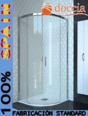 Mampara de ducha semicircular LILLE Doccia.