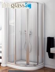 Mampara ducha semicircular ORINOCO Hidroglas.