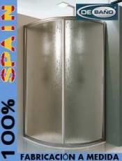 Mampara de ducha circular DELFOS Debaño.