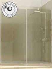 .Mampara ducha cristal fijo SANKIO Glassinox
