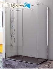 Anticipate a nuestras ofertas. Mampara cristal fijo para ducha ELBA Hidroglas.