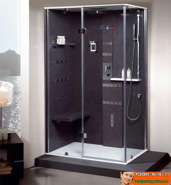 Cabinas de ducha precios cabina hidromasaje lisboa for Cabinas de ducha medidas