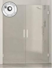 Mamparas de Ducha BAHAMAS puertas abatibles Inox glassinox. Tienda online de calidad con los últimos modelos.