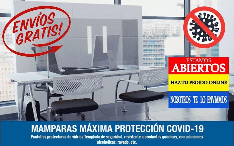 Mamparas de Protección COVID-19