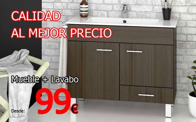 Compra tu mueble de baño barato online.