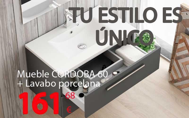 Muebles de baño suspendido Córdoba..